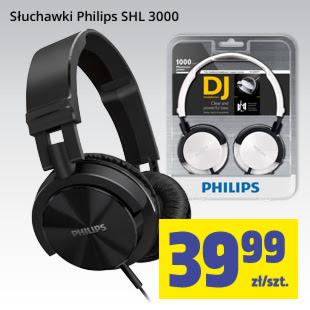 Słuchawki Philips SHL3000 za 39,99zł @ Biedronka