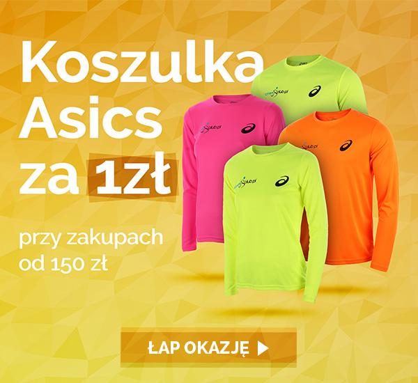 Koszulka biegowa Asics za 1zł przy zakupach za min.150zł @ Runners Club