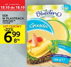 Ser żółty w plastrach Bluedino 6,99zł za 500g @ Lidl