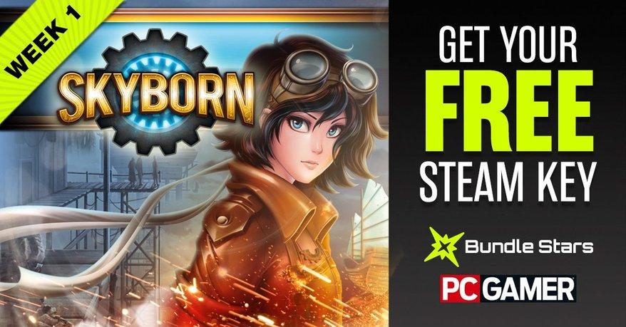 5 darmowych gier (Steam) - Skyborn, Bionic Dues i inne @ PC Gamer