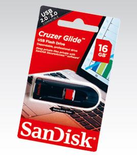 Pendrive Sandisk Glide 16GB za 22,99zł @ Biedronka