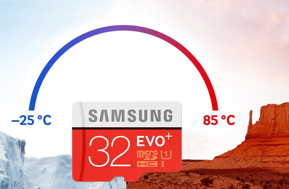Karta pamięci microSDHC Samsung 32GB Evo Plus 80MB/s + adapter za 48,99zł @ X-Kom