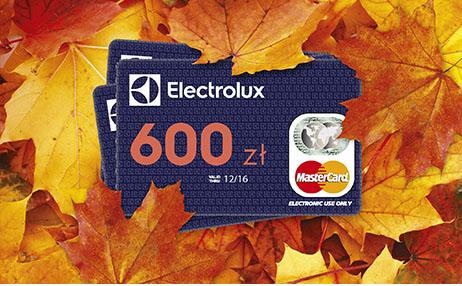 Do 600zł cashbacku przy zakupie urządzeń do zabudowy @ Electrolux