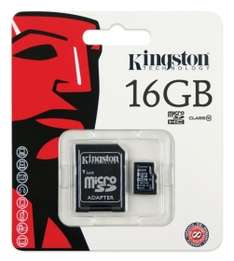 Karta Kingston microSDHC Class10 16GB za 19,99 zł @ x-kom