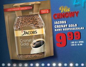 Kawa Jacobs Cronat Gold 9,99zł za 150g @ Lidl
