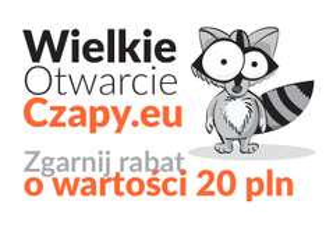 20 zł zniżki na Czapy.eu
