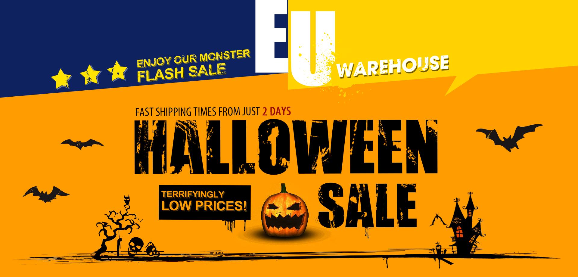 Halloween z GearBest.com - dystrybucja europejska