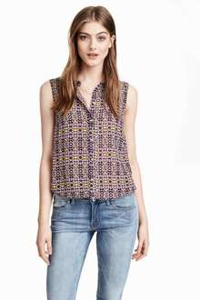Szyfonowa bluzka za 15zł + darmowa dostawa @ H&M