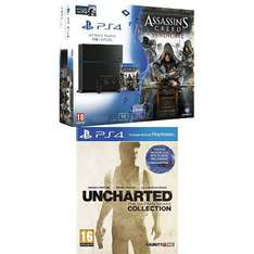 Playstation 4 1TB (nowy model!) z 3 grami: Assassin's Creed : Syndicate + Watch Dogs + Uncharted : The Nathan Drake Collection za ~1782zł @ Amazon.fr