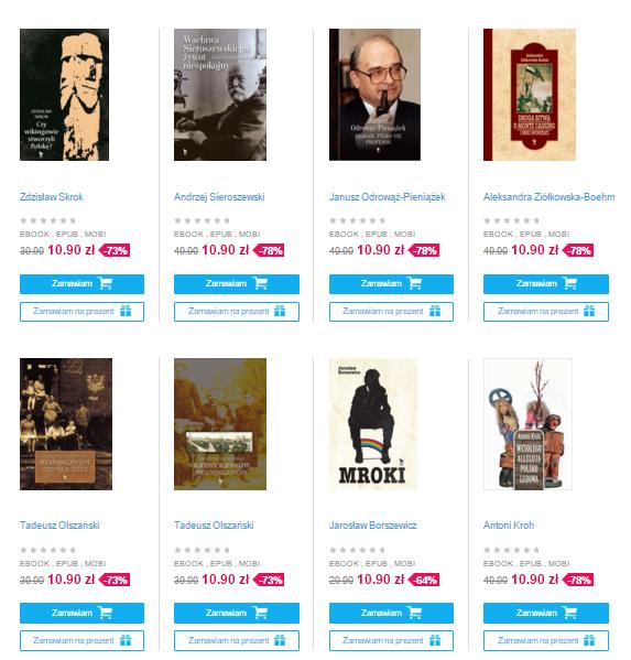 [eBook] Wszystkie książki wydawnictwa Iskry w równej cenie 10,90zł (do -78% taniej) @ Virtualo