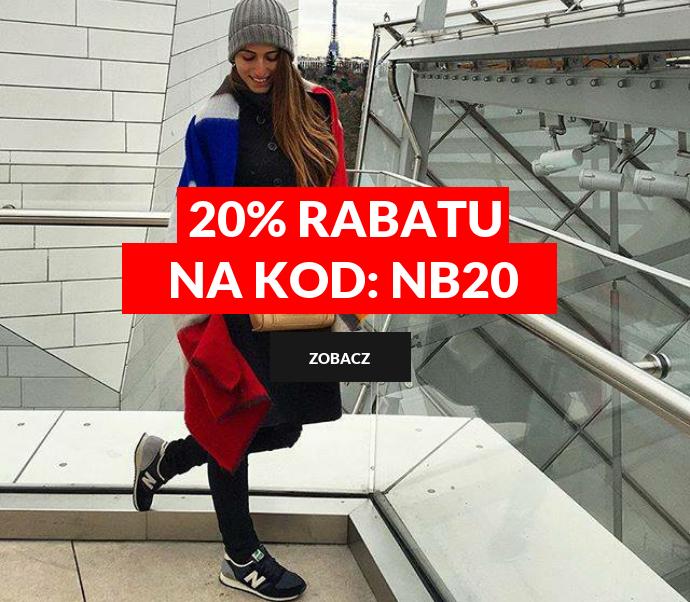20% rabatu od New Balance
