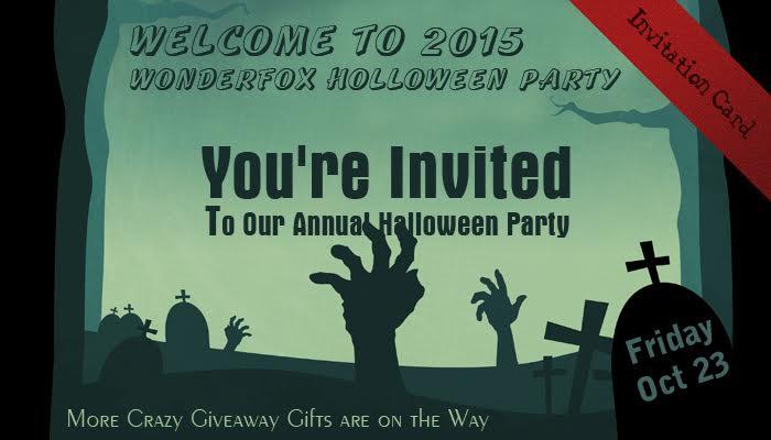 Wonderfox 2015 Halloween Prezenty (100% zniżka)