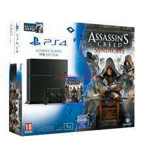 Konsola PS4 1TB + Assassin's Creed Syndicate + Uncharted: kolekcja Nathana Drake'a + Watch Dogs za 1599zł @ Media Markt