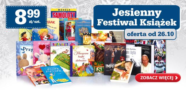 Jesienny festiwal książek (Brown, Zafon, King, Masłowska i inni!) za 8,99zł @ Biedronka