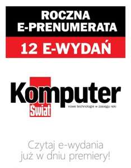 Roczna e-prenumerata za 52 zł @ Komputer Świat