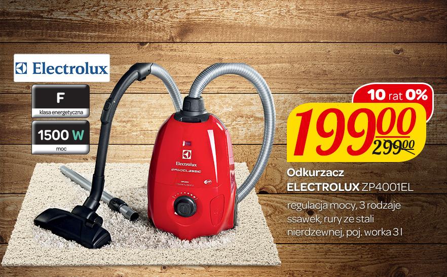 Odkurzacz Electrolux ZP4001EL za 199zł @ Carrefour