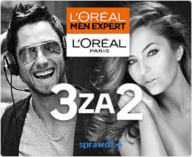 3 za 2 - kosmetyki L'Oreal Paris i Men Expert @ Empik