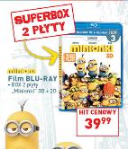 Minionki [Blu-Ray] w wersji 3D+2D za 39,99zł @ Lidl