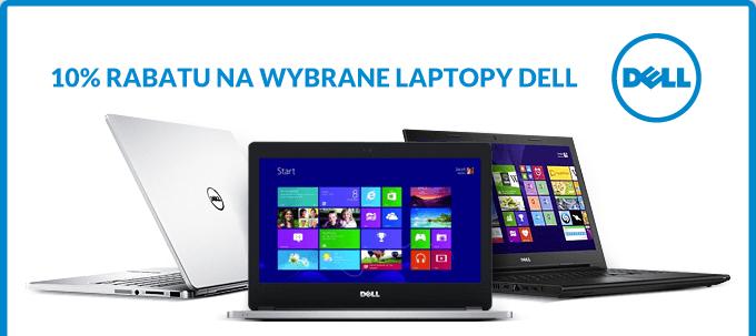 10 % Rabatu na wybrane laptopy Dell @ RTVEUROAGD