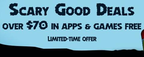 Gry i aplikacje o wartości ponad 70$ za DARMO @ Amazon Apps