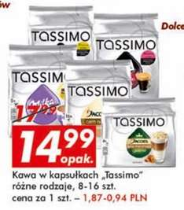 Kapsułki Tassimo za 14,99zł @ Auchan