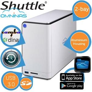 Shuttle Omninas KD20 serwer plików NAS za 199,90 zł @ Ibood.pl