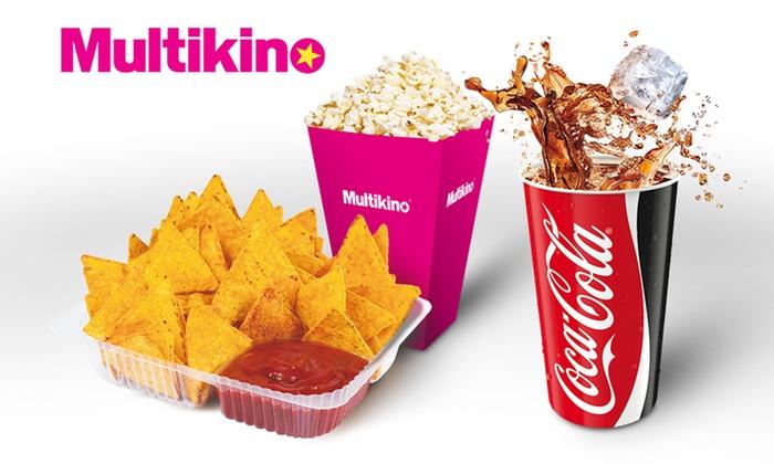 11,90zł za popcorn+napój lub 19,90 za średni zestaw nachosy+napój w sieci Multikino i Silver Screen @ Groupon