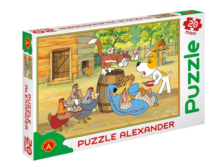 Puzzle dla dzieci (Reksio, Bolek i Lolek, Koziołek Matołek) za 14,99zł @ Lidl