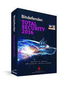 Total Security 2016 na pół roku @ Bitdefender