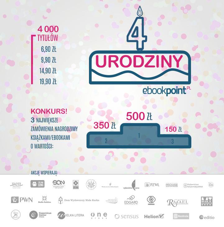 4000 ebooków od 6,90 zł @ ebookpoint.pl