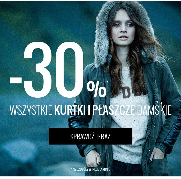 Kurtki i płaszcze -30% @ House