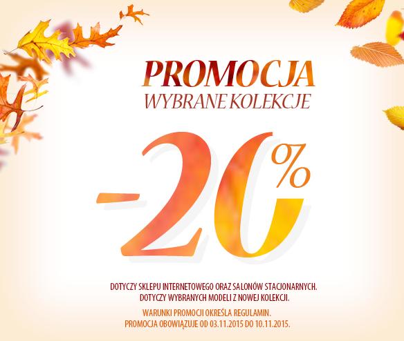 20% zniżki na wybrane produkty @ Coccodrillo