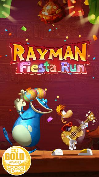 Rayman Fiesta Run.  iOS 0zl z 2,99euro