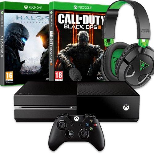 Konsola Xbox One + Halo 5: Guardians + Call of Duty : Black Ops III + headset  Turtle Beach Ear Force Recon 50X za 1640zł @ Amazon.fr
