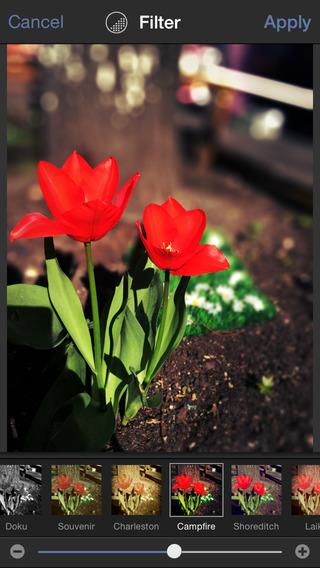 Tadaa SLR  - aplikacja do obróbki zdjęć 0zł z 3,99E iOS