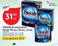 Tabletki do zmywarek Finish od 10.11 @ Tesco