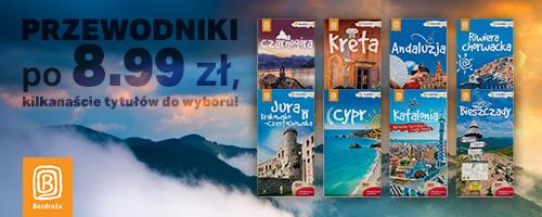 Travelbooki (przewodniki) wydawnictwa Bezdroża za 8,99zł (prawie 16zł taniej!) @ Bezdroża
