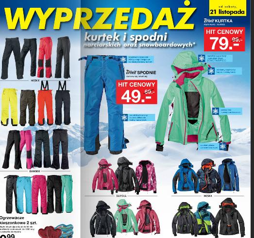 Wyprzedaż spodni i kurtek narciarskich od 16.11 @ Lidl