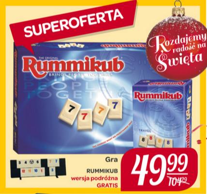 Rummikub + wersja podróżna gratis - Carrefour