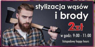 Stylizacja wąsów i brody za 2zł (Lublin)
