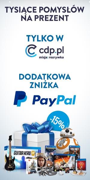 CDP.PL - WSZYSTKO 20% mniej przy płatności PayPal