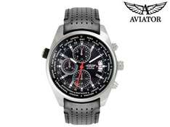 Zegarek Aviator World Time Pilot za 244,9zł @ iBOOD