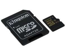 Karta Kingston 32GB microSDHC Class 10 + adapter (90MB/s) 28% taniej @ X-Kom