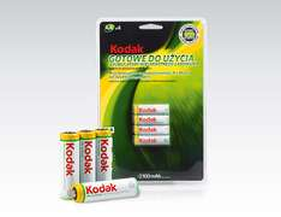 Akumulatorki 4x2100mAh Kodak za 19,99zł @ Biedronka