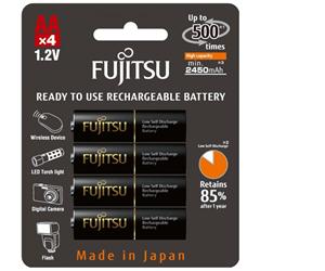 Akumulatory Fujitsu R6/AA 2450 mAh (4 szt.) za 29 zł @ x-kom