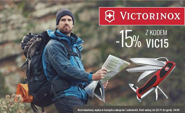 -15% na wszystkie produkty Victorinox @ evertrek