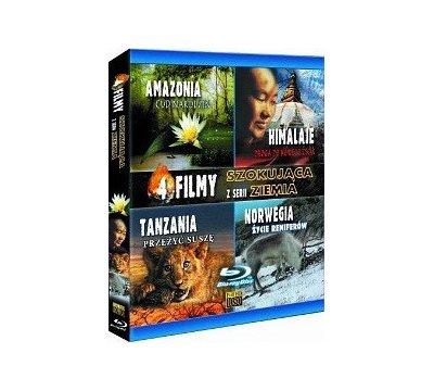 Szokująca Ziemia: Amazonia DVD-Box - 4x Blu-ray