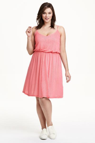 H&M+ Dżersejowa sukienka w dużych rozmiarach - 79.90zł