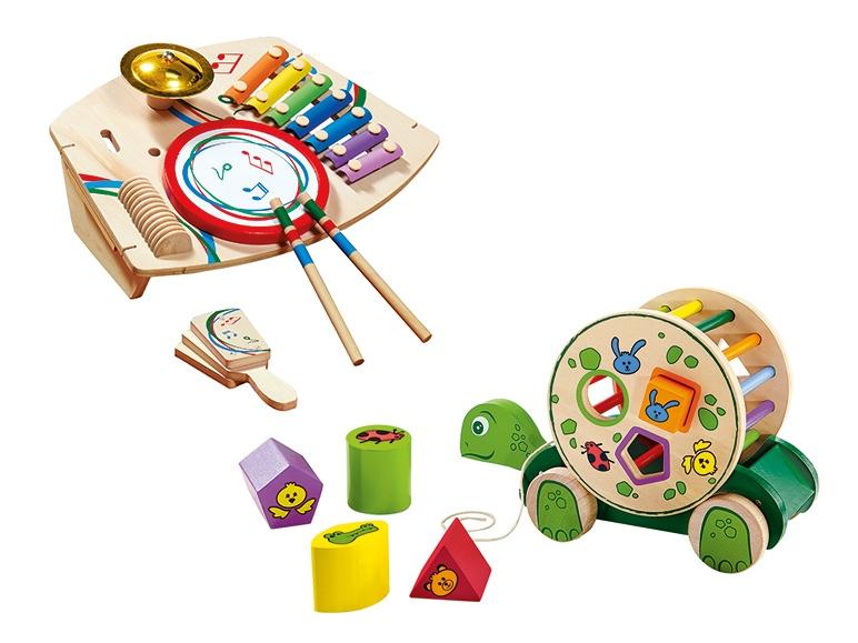 Drewniane zabawki za 39zł @ Lidl