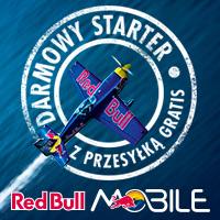 DARMOWY starter Red Bull Mobile z 1GB i 3zł do wydzwonienia @ Play